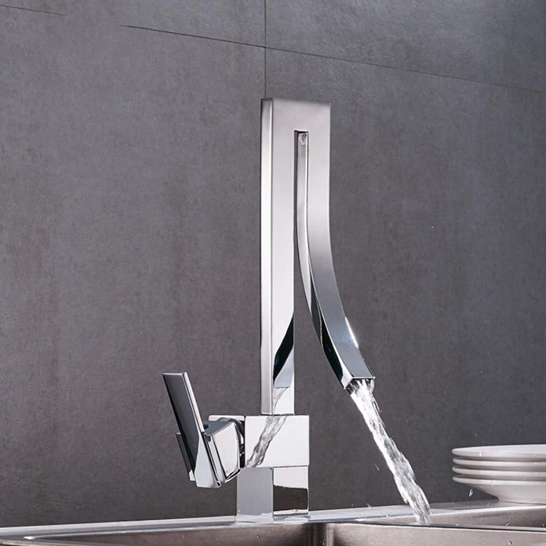 Ayhuir Neues Angebot Küchenarmaturen Becken Wasserhahn Küche Wasserhahn Kalt- & Warmwasser Schalten Einzigen Handgriff Wasserfall Wasserhahn