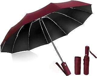 おりたたみ傘 メンズ 晴雨兼用 折り畳み傘 折りたたみ傘 日傘 ワンタッチ 自動開閉 黒とネイビー選択可能 大きい 大きめ 超撥水 梅雨対策 台風対応 UVカット 遮光 遮熱