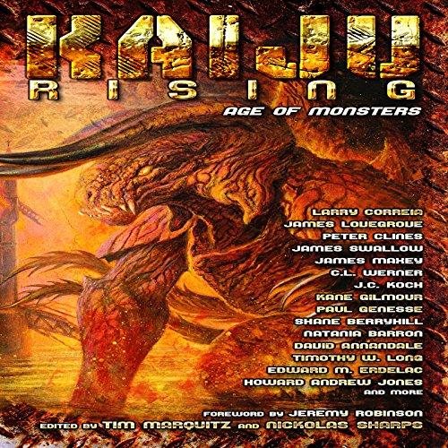 Kaiju Rising: Age of Monsters audiobook cover art