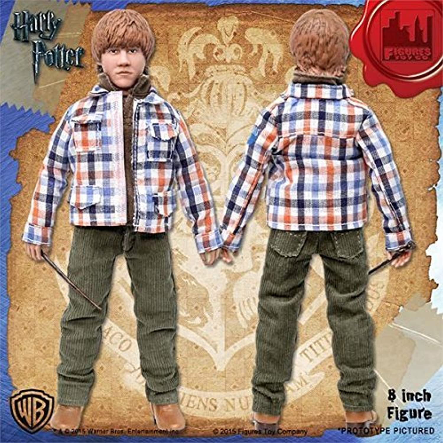 Action Figures - Harry Potter - Ron Weasley 8  Series 1 Licensed HP0800