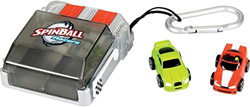 Kid Galaxy Spinball Racers Carry Along Race Set 20106