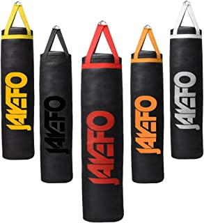 Jayefo Trexter Heavy Punching Bag 6 FT 10 Year Warranty Muay Thai Heavy Bag Boxing MMA Fitness Workout Training Kick Boxing Punching Banana Bag - Unfilled