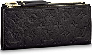 ff506cd9cc Louis Vuitton Monogram Empreinte Portafoglio Adèle Wallet Black Article:  M62528