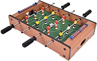 """Enjoy Fun Family Friend Perfect Easily Play Indoor Competition Sized Arcade Game Sports Mini Tabletop Football Soccer Table 20"""", Home"""