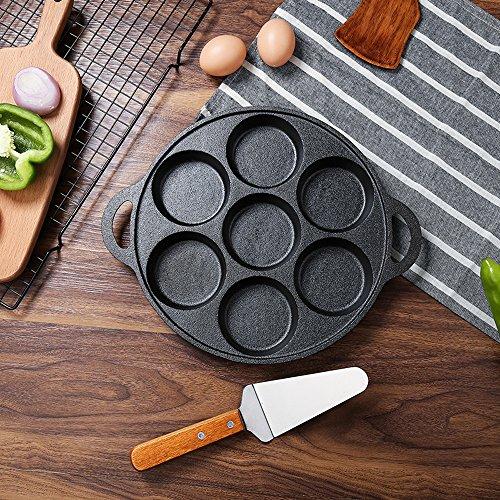 Nadalan Cast Iron Egg Pan