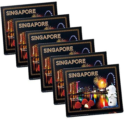 シンガポール 土産 シンガポール トリュフチョコレート 6箱セット (海外旅行 シンガポール お土産)