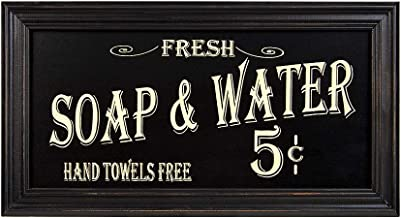 Vintage Bath Advertising Wall Art | Americana Collection | Bathroom Laundry Room Decor |..