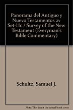 Panorama del Antiguo y Nuevo Testamentos: Survey of the Old and New Testaments (Everyman's Bible Commentary) (Spanish Edition), 2 Volume Set