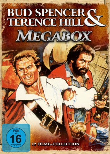 Bud Spencer & Terence Hill - Megabox (12 Filme-Collection) [6 DVDs]
