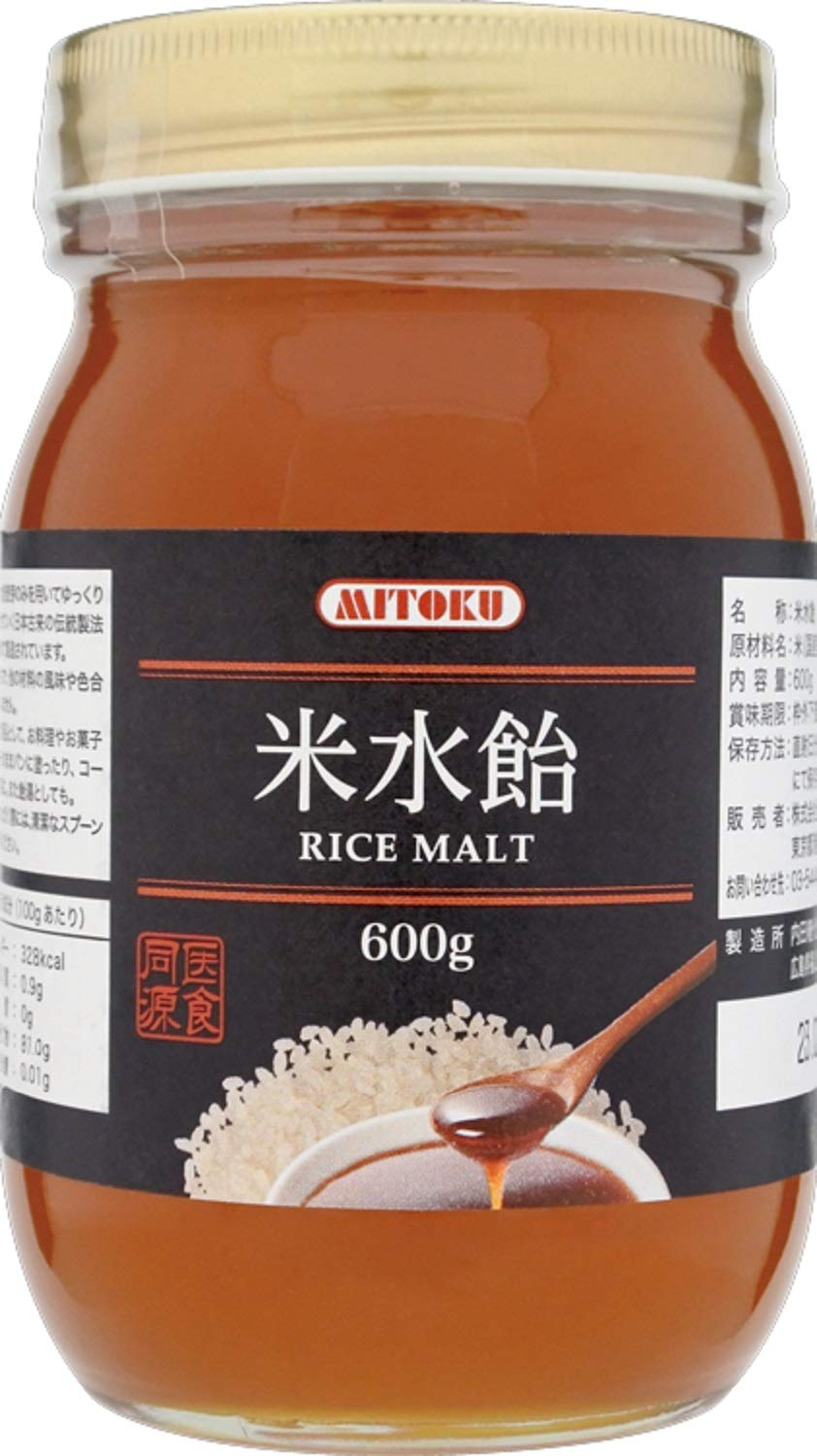 Mitoku Department store rice syrup 600g Popular brand in the world