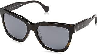 Sunglasses Balenciaga BA 98 52C dark havana / smoke mirror