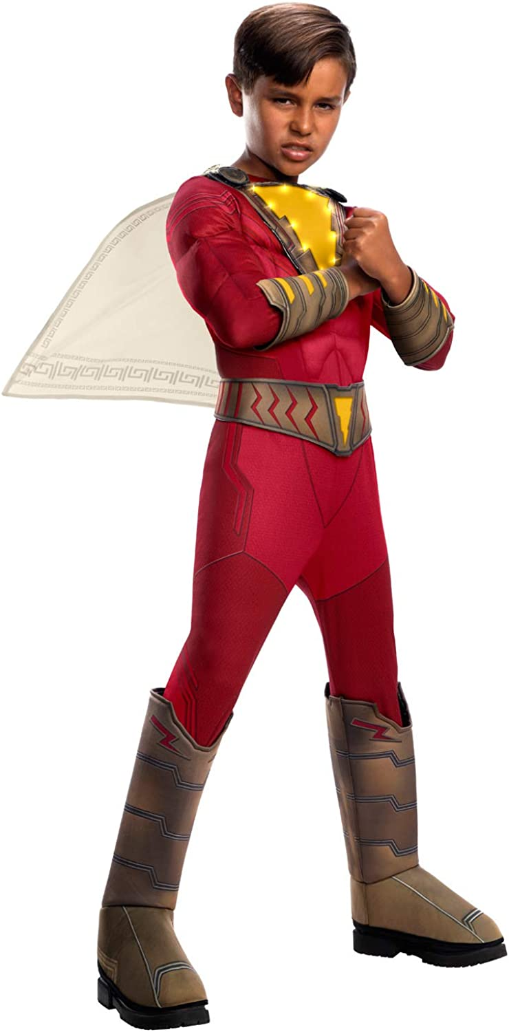 Rubies Shazam Deluxe Costume with Lights for Kids