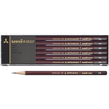 三菱鉛筆 鉛筆 ユニスター 2B 1ダース US2B