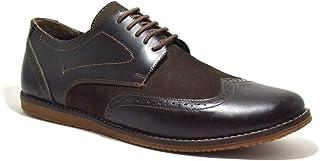 Hakiki Deri Kahve Büyük Numara Klasik Erkek Ayakkabı