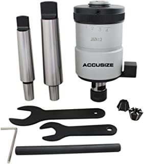 Accusize Industrial Tools 4-1/2'' / M5-M12 Self-Reversing Tapping Head, 1/8'' Npt, Jt6 Jacobs Taper, 2600-4012