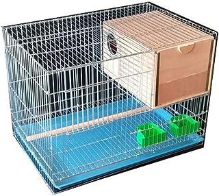 Parrot House 1PCS Metal Birdcage Myriad Pigeon Pigeon Acacia Birdcages Universal Birdcage Bird Cages (Size : M)