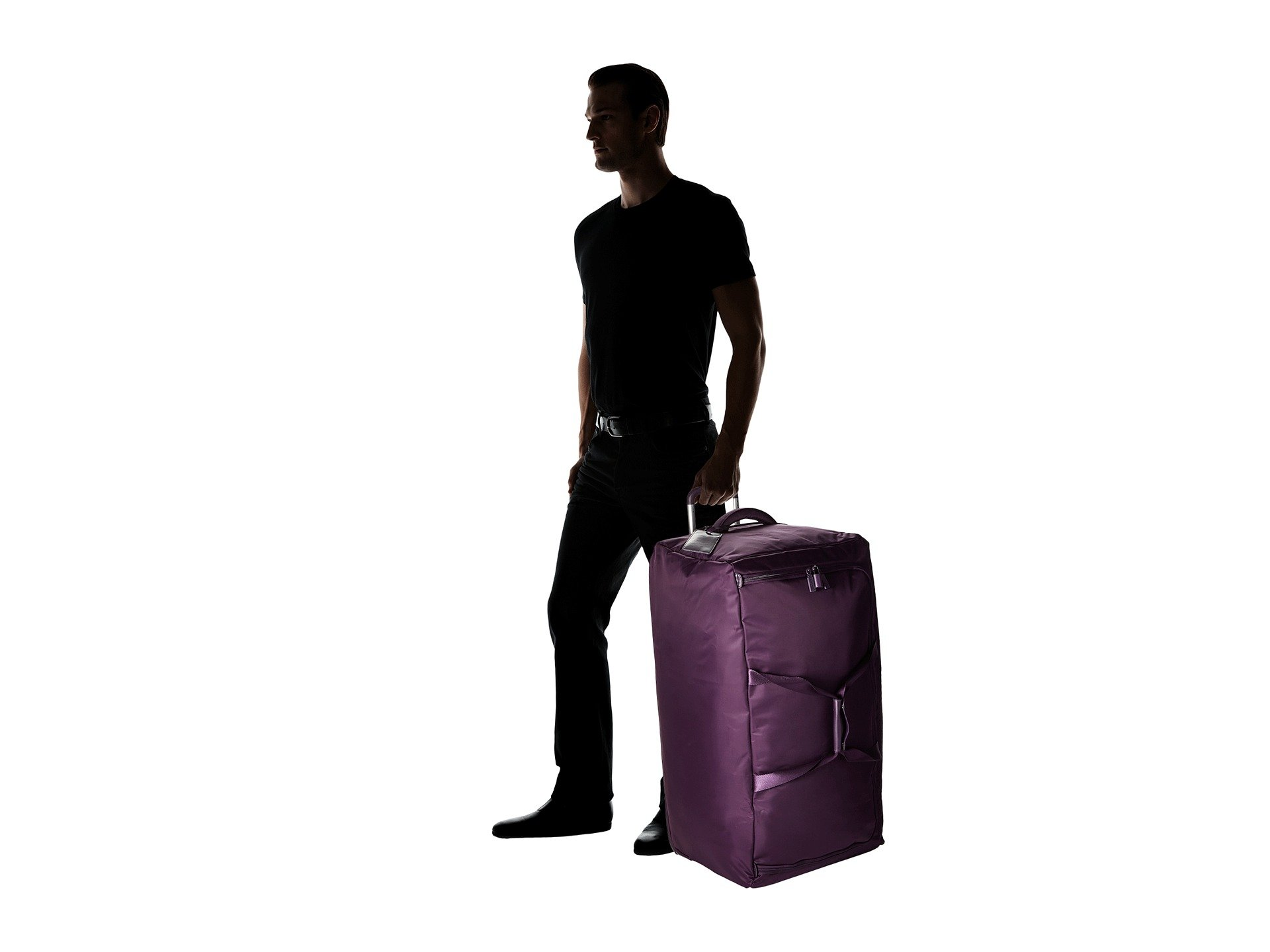 Paris 0 Duffel Wheeled Pliable Purple Lipault 30
