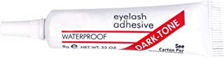 CETC Waterproof Eyelashes Makeup Adhesive Eye Lash Glue 7g (Dark Tone)