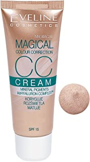 Eveline Cc Cream Magical Colour Correction , Light Beige 50 - 30ml