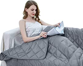 ZZZhen Weighted Blanket - High Breath - 60''80'' 20LBs - Quality Heavy Blankets - Calm Sleeping for Adult and Kids, Durabl...