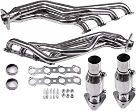 ECCPP Exhaust Manifold Set Stainless Steel Automotive Replacement Exhaust Manifolds FIT FOR 99-04 F150 4WD/RWD 5.4 MODULAR V8
