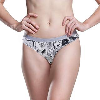 81f0be81337 KALAZANA Ahegeo Women's Underwear Hipster Panties Sexy Anime Girls Face  Breathable Soft Comfort Panty Bikini Briefs