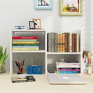 AOLI Étagère Étagère à livres Simple Bureau Organisateur Étagère à livres Bibliothèque Économie d'espace Étudiant Chird po...