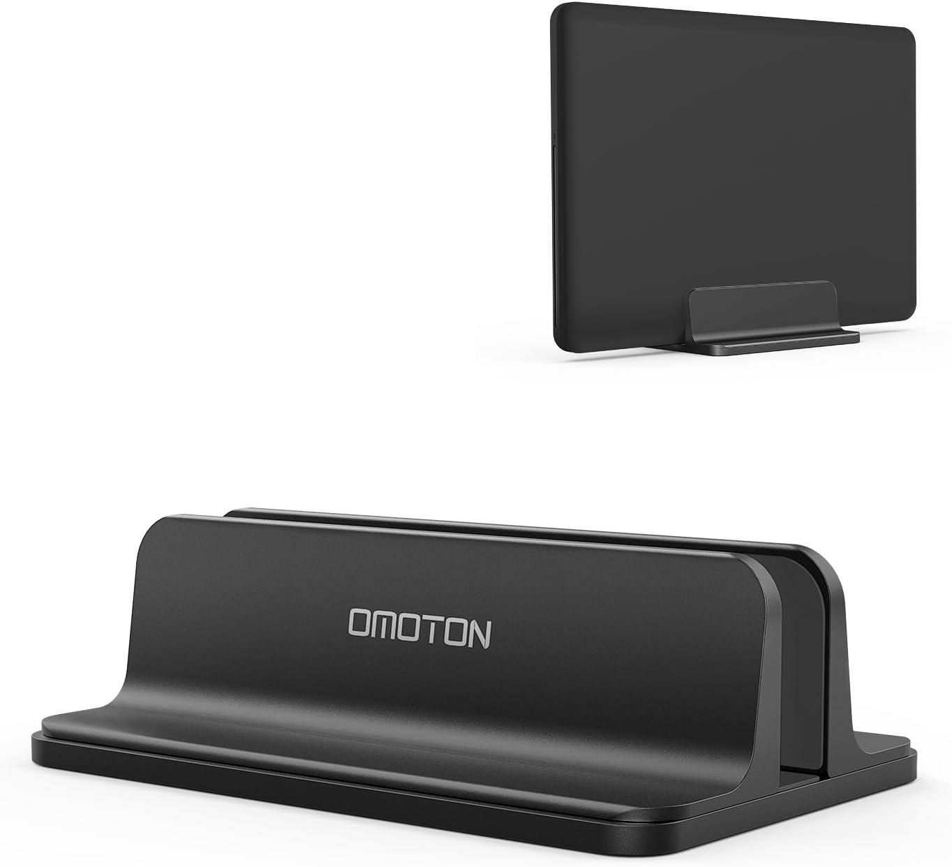 Soporte ajustable laptops hasta 17.3 pulgadas omoton negro