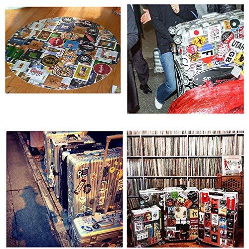 Fashion Brand 100 Stück/Packung Aufkleber Vielzahl Vinyl Cool Aufkleber Motorrad Fahrrad Gepäck Aufkleber Graffiti Patches Skateboard Aufkleber für Laptop Aufkleber für Kinder und Erwachsene