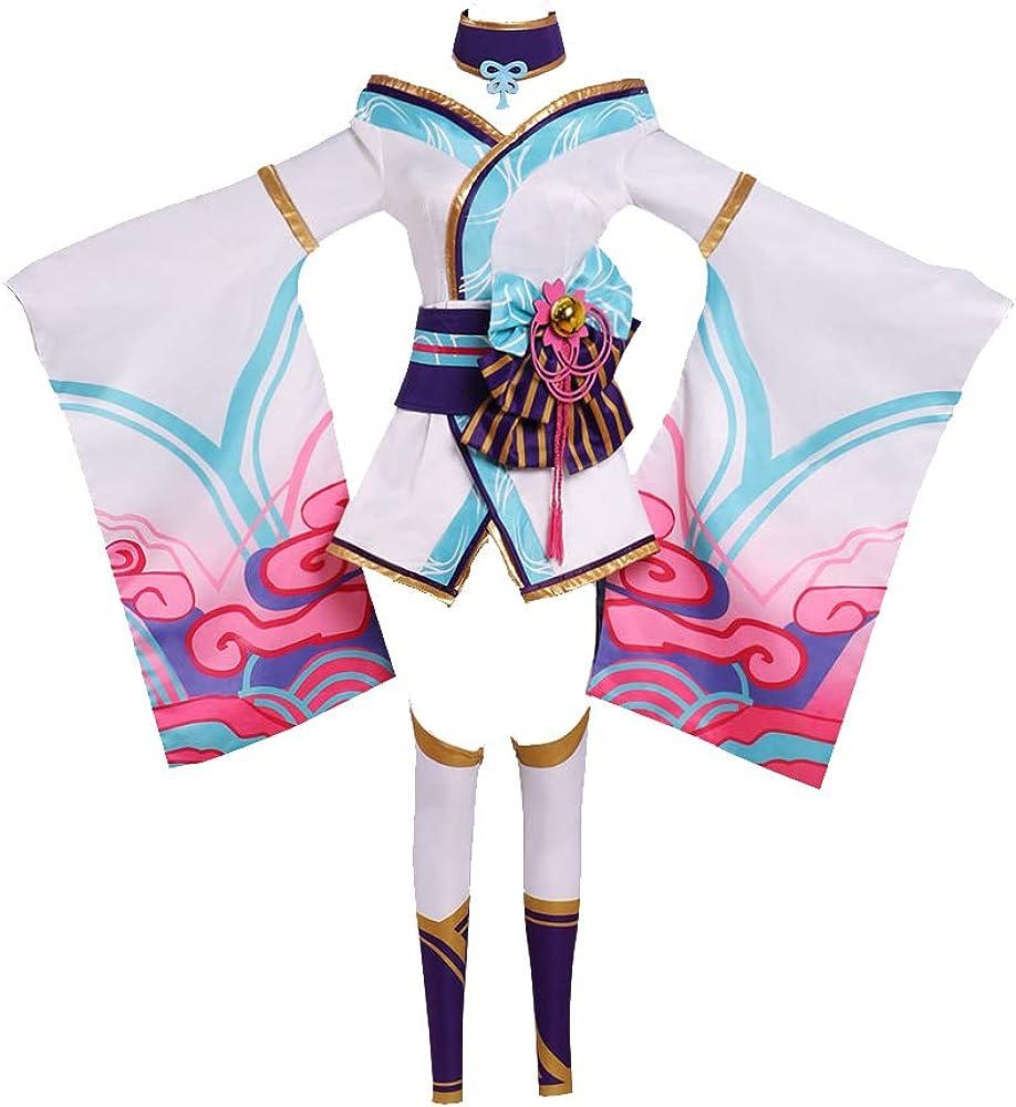 CosplayDiy Women's Spirit Blossom Ahri Save money Costume Pink Cosplay Max 88% OFF