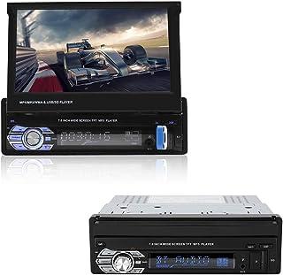 Diyeeni Radio de Coche USB2.0 1 DIN con Pantalla táctil HD de 7 Pulgadas, Reproductor Multimedia para Coche, Reproductor B...