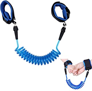 VechAnti Lost Wrist Link,Child Outdoor Safety Hook and Loop Wristband Leash 360°Rotate Child Walking Safety Harness for Toddlers, Babies & Kids