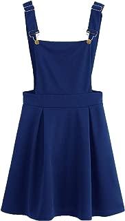light blue pinafore dress