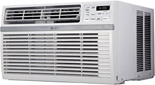 LG 10,000 BTU Window Air Conditioner with Remote Control and Dehumidifier