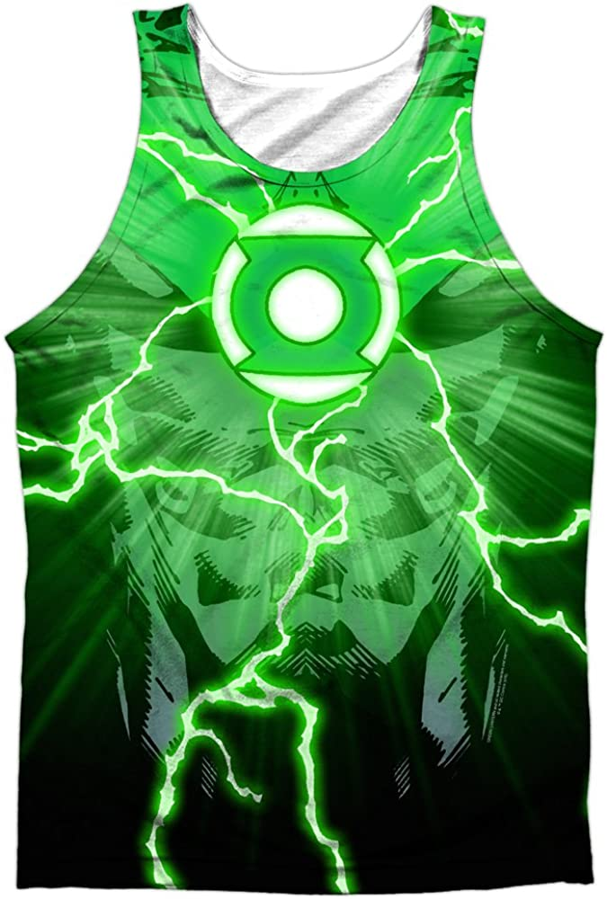 Indefinitely Tank Top: Green Lantern- Power Front Size L Back Mail order cheap Surge