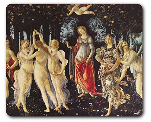 1art1 Sandro Botticelli - La Primavera 1482-1487 Tappetino per Mouse (23 x 19cm)