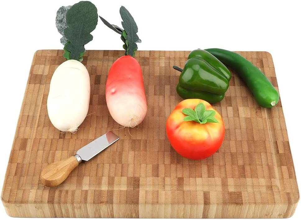 Wooden Elegant Cutting Board Large Bamboo End Special Campaign Block Grain