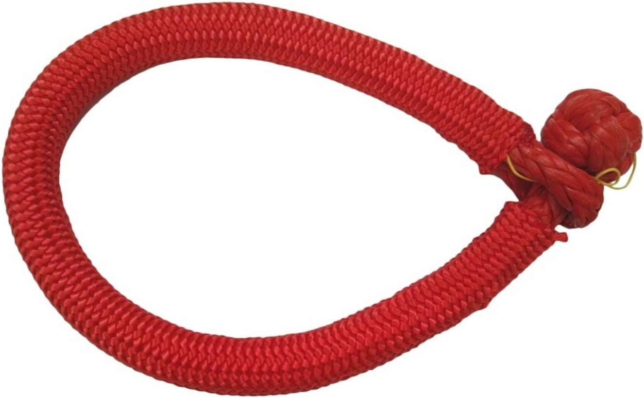 Red 9mm150mm 100% quality warranty! ATV Soft Shackle Max 80% OFF Winch Off For Rope