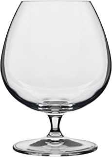 Luigi Bormioli 10564/02 Crescendo 15-1/2-Ounce Brandy Snifter,Clear , Set of 4