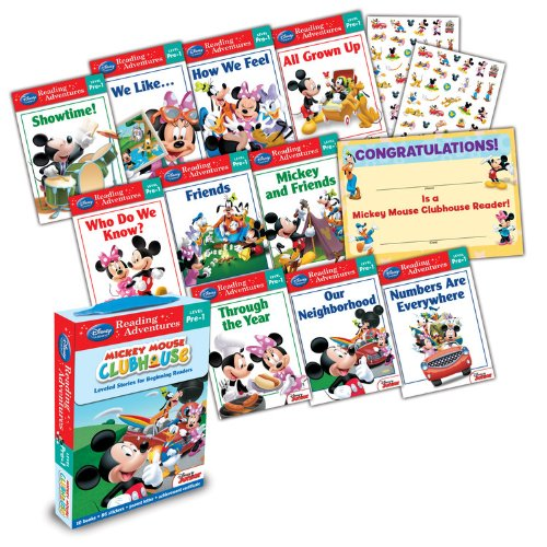 Adventures in Reading Mickey Mouse Clubhouse Level Pre-1 Boxed Set (Reading Adventures)