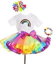 Amscan 396320 80S Neon Rainbow Tutu Multicolor Standard