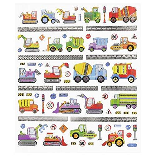Hobby-Design Sticker , Baufahrzeuge