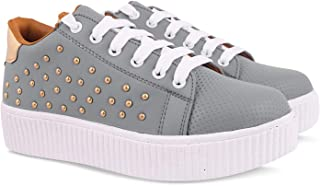 KRAFTER Casual Shoes Sneakers for Girls and Women