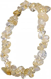 Yoga de bracelets en perles 12mm Perles ronde 7.5? Chakra Longueur Reiki Bracelet Corded pierres pr/écieuses AAA citrine naturelle Glands macram/é Bracelet r/églable Bracelet unisexe tress/ées