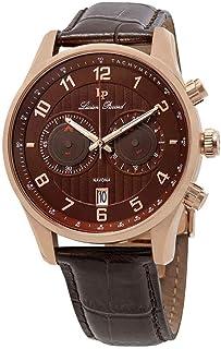 Lucien Piccard Men's LP-11187-RG-04-BRW Navona Analog Display Quartz Brown Watch