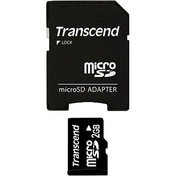 Transcend microSDカード 2GB TS2GUSD 5年保証