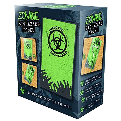 Toalla de playa y baño con diseño de «Infected Zombie»