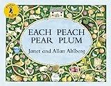 Pocket Puffin Each Peach Pear Plum