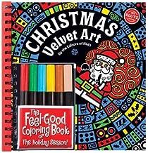 Christmas Velvet Art [ CHRISTMAS VELVET ART ] by Klutz Press ( Author ) Jan-01-1948 Hardcover
