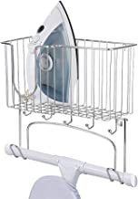 Festnight Iron Rack Wall Mounted Ironing Board Holder Ironing Board Storage Organizer Ironing Board Holder With Large Stor...
